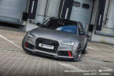 Audi RS6 PD600R Front Add-On Spoiler suitable for PD600R Front Bumper