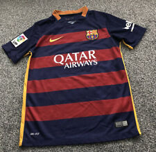 Nike Barcelona Barca Home Football Shirt Top 2015/2016 - Kids Size 10-12 Years