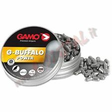 PIOMBINI GAMO BUFFALO POWER 1G CAL 4.5 mm 200 Pz LUNGHE DISTANZE ARIA COMPRESSA