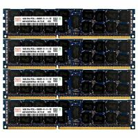 PC3L-10600 4x16GB HP Proliant BL680C DL165 DL360 DL380 DL385 DL580 G7 Memory Ram