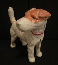 """Cast Iron Jack Russel Terrier Door Stop By """"Mcf.� Outstanding Condition"""