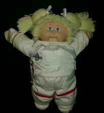 VINTAGE CABBAGE PATCH KIDS BABY DOLL SPACE ASTRONAUT GIRL STUFFED ANIMAL PLUSH