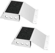 Heel Riser / Foot Riser X2 Aluminum Go kart Sand Rail Pedal IMCA USTMS Rod Pair