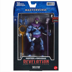 Mattel Masters of the Universe Revelation Masterverse Actionfigur Skeletor