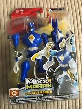 MIGHTY MORPHIN POWER RANGERS MIXX n MORPH BLUE RANGER #smar17-25a