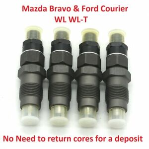 Fuel injectors 105078-0111 for Mazda Bravo WL WLT Ford Courier 2.5L WL-T diesel