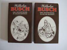 Konvolut 2 Bände von Wilhelm Busch Band 3 und 5 K0746