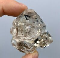 72.8 g Herkimer Diamond Gem Natural Cluster, 7+ Crystals with Brilliant Clarity,