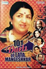 101 Duets Of Lata Mangeshkar - 101 Bollywood Songs DVD, 101 Songs In 3 DVD Set