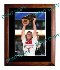 BEN HORNBY 2010 PREMIERS St GEORGE DRAGONS A3 PHOTO
