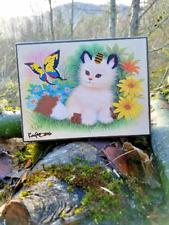 Pokemon Altered Art | Beautifly Butterfly | Meowth Cat Pokemon Painting