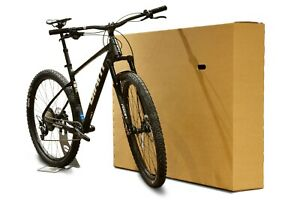 Cardboard Bike Box Durable Bicycle Shipping and Storage Boxes With Carry Handles
