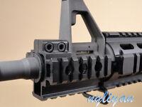 "Heavy Duty Tri-Side 20mm Picatinny Rail mount For 3/4"" Rifle Gun hunting Alum"