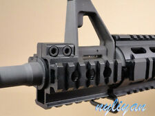 Heavy Duty Tri-Side 20mm Picatinny Rail mount For Rifle Hunting Aluminum Black