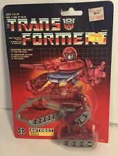 Transformers G1Minibot Autobot Warpath 80s Original Vintage Takara Hasbro MISB