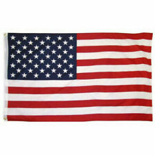 5x9 FT Cotton USA Flag Indoor Outdoor