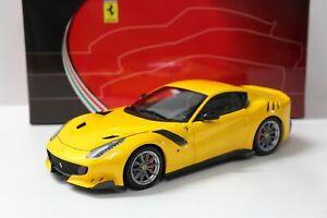 BBR Ferrari F12 TDF Giallo Tristrato 1/18