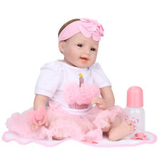 Realistico Reborn Bambino Bambola Morbido Silicone Realistico Bambola Flessibile