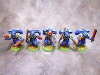 Warhammer 40k Space Marines Ultramarines Assault Squad Jump Packs Part Metal