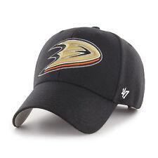 Marque 47 Neuf pour Homme NHL Ducks D'Anaheim Casquette Noire avec Étiquette