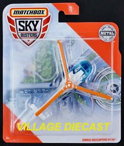2020 Matchbox Sky Busters® #10 Airbus Helicopters H130™ WHITE / MB CARE / MOC