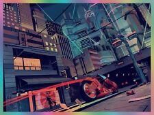 """Akira Highway 26 Foil Print By Chris Skinner 18"""" x 24"""" Ed 125"""