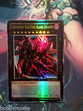 LEGGENDARIO DRAGO NERO OCCHI ROSSI FOIL ORICA LEGENDARY RED EYES BLACK DRAGON