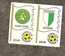 Fig. Calciatori Panini 1979-80 N.554 Scudetti Almas Roma/Avezzano! Nuova!!