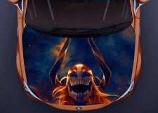 Monster Anime Full Color Sticker Car Hood Vinyl, Car Vinyl Graphics gc 2216