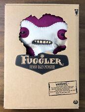 "Spin Master FUGGLER Funny Ugly Monster Lil Demon PURPLE Buttons LARGE NEW 12"""