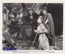 Allison Hayes busty, Jack Palance VINTAGE Photo Sign Of The Pagan