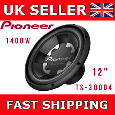 "Pioneer Car Subwoofer TS-300D4 12"" 1400W Champion Series Dual VoiceCoil 4Ohm Sub"