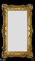 Espejo de Pared Oro 96x57 Antiguo Barroco Rococó Shabby Chic Diseño Retro 3