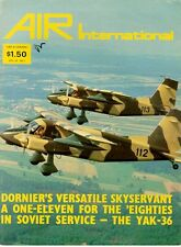 AIR INTERNATIONAL V16 N1 ARADO Ar196_BAC 1-11_Do28D_YAK-36MP_Hs129 PANZERKNACKER