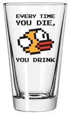 Flappy Bird Every Time Pint Glass