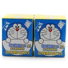 New Sealed Doraemon and Friends 7-11 3D Puzzle Anime Figurine Collectible, Rare