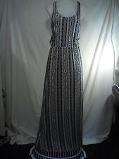 Dotti Ladies Dress in a Black and White Stretch Fabric Geometric Print Size 6