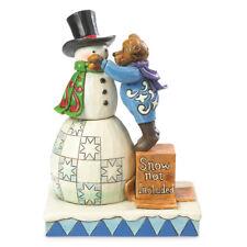 Boyds Bears & Jim Shore Klondike w/Crystal Building Friendships Figurine 4041910