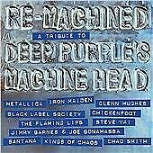 Various - Re-Machined: A Tribute to Deep Purple's Machine Head (2012)  CD  NEW
