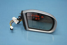 2001 MERCEDES C240 W203 #10 DOOR MIRROR GLASS OEM RIGHT PASSENGER OEM
