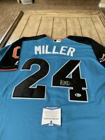Andrew Miller Autographed/Signed Jersey Beckett COA Cleveland Indians All Star