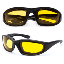 1* Hot Fashion Padded Wind Resistant Sunglasses Extreme Sports Riding Glasses