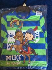 Brand NEW Mike The Knight Striped Long Sleeve Top Age 2 - 3 Years