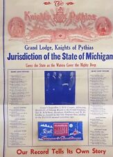 1942/43 Grand Lodge Knights Of Pythias Calendar