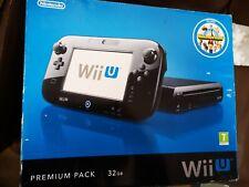 Nintendo Wii U 32GB Premium Black Console Pack