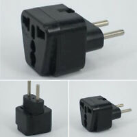 1PC Plug Electrical Outlet Adapter For European Travel UK CN US Brazil Plug Via