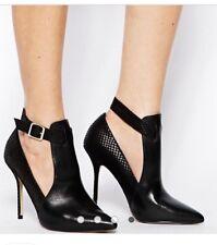 Aldo Miriewiel Womens Black Ankle Boot Style Heels Size 8 BNWT