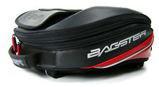 BAGSTER ROADER BAG FOR TANK COVER OR EASY HARNESS - BLACK/RED - 12-22 LITRES