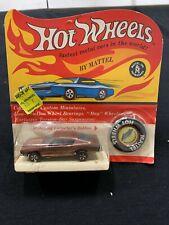 RARE ERROR PACKAGE Original NRFP MOC Hot Wheels REDLINE Custom Barracuda Copper