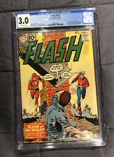 The Flash #123 - 1st Golden Age Flash in the Silver Age - CGC 3.0 - 1961